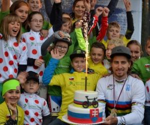Stretnutie Petra Sagana s víťazmi Detskej tour