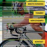 cbe061f3be7d1 cyklo Kemp Petra Sagana - Detská tour Petra Sagana
